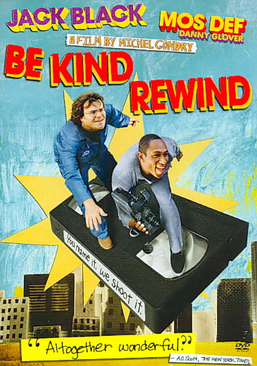 BE KIND REWIND BY BLACK,JACK (DVD)